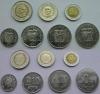 Эквадор. Набор. 7 монет. 1-1000 сукре. З*биметалл. UNC
