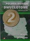 """Альбом для польских монет серии """"Исторические города Польши"""" (32 ячейки)"""