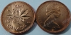 Канада. 1 цент. 1975