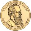 США. 1 доллар. Президенты. №19. 2011. Rutherford B. Hayes / Ратерфорд Хейз. D. UNC