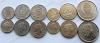 Восточно-Карибские Штаты. Набор. 6 монет. Парусники. UNC