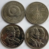 Тайланд. 100 бат. Полный набор монет. 2 монеты. UNC
