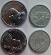 Конго. Набор. 2 монеты. Животные. UNC