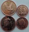 Фолклендские острова. 2 монеты. 1 и 2 пенни. 2004. Современный  тип. Животные. UNC
