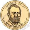 США. 1 доллар. Президенты. №18. 2011. Ulysses S. Grant / Улисс Грант. P. UNC