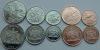 Тринидад и Тобаго. Набор. 5 монет. Флора. Животные. UNC
