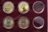 Планшет PO40 с 40 капсулами под российский биметалл и монеты диаметром 27 мм (диаметр капсул 27 мм)