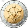 Бельгия. 2006. 2 евро. Атомиум в Брюсселе. Биметалл. Из ролла. UNC