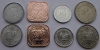 Суринам. Набор. 4 монеты. UNC