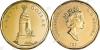 Канада. 1 доллар. 1994. Национальный мемориал. UNC