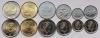 """Канада. 2017. Набор """"150 лет Конфедерации"""". 6 монет (5 ц, 10 ц, 25 ц, 50 ц, 1 дол, 2 дол). UNC"""