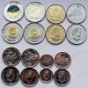 "Канада. 2017. Набор ""150 лет Конфедерации"". 8 монет (5 ц, 10 ц, 25 ц + цветная, 50 ц, 1 д, 2 д + цветная). UNC"
