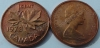 Канада. 1 цент. 1973