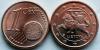 Литва. 2015. 1 евроцент. Из ролла. UNC