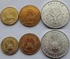 Джибути. Набор. 3 монеты. Парусники. UNC