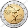 Греция. 2004. 2 евро. Летние Олимпийские игры 2004. Афины-2004. Спорт. Из ролла. UNC