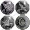 Перу. 1 соль. Фауна Перу. Набор. 3 монеты. Медведь, кондор, крокодил. Животные. UNC