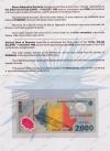 Румыния. 1999. 2000 лей. Солнечное затмение. Буклет. UNC / пресс