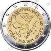 Словакия. 2011. 2 евро. 20 лет формирования Вышеградской группы. UNC